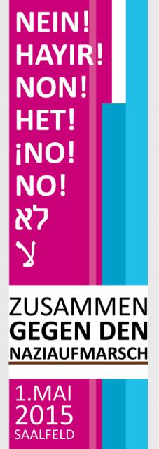 Flyer Front Web 1. Mai zumsaru