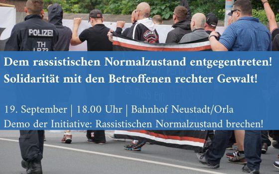 19. september antira demo neustadt orla